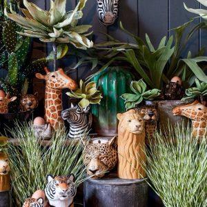 Quail Ceramics vaas Giraffe